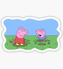 peppa pig  Sticker