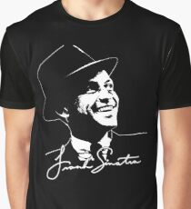 Frank Sinatra - Portrait and signature Graphic T-Shirt