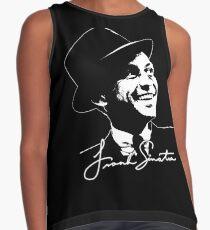 Frank Sinatra - Portrait and signature Contrast Tank
