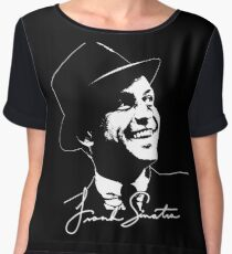 Frank Sinatra - Portrait and signature Chiffon Top