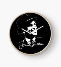 Frank Sinatra - Portrait and signature Clock
