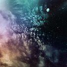 Polychrome Moon by Victoria Avvacumova