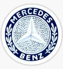 Classic Car Logos: Mercedes-Benz Sticker
