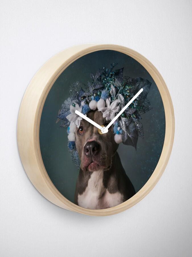 Alternate view of Flower Power, Patsy Clock