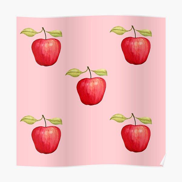 Autumn Apples Poster