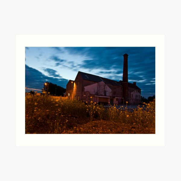 Moorlands Factory Art Print
