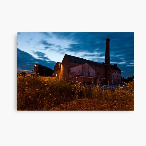 Moorlands Factory Canvas Print