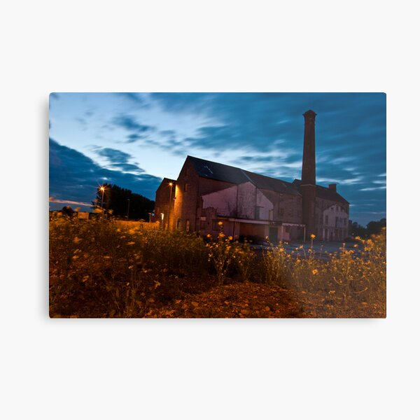 Moorlands Factory Metal Print