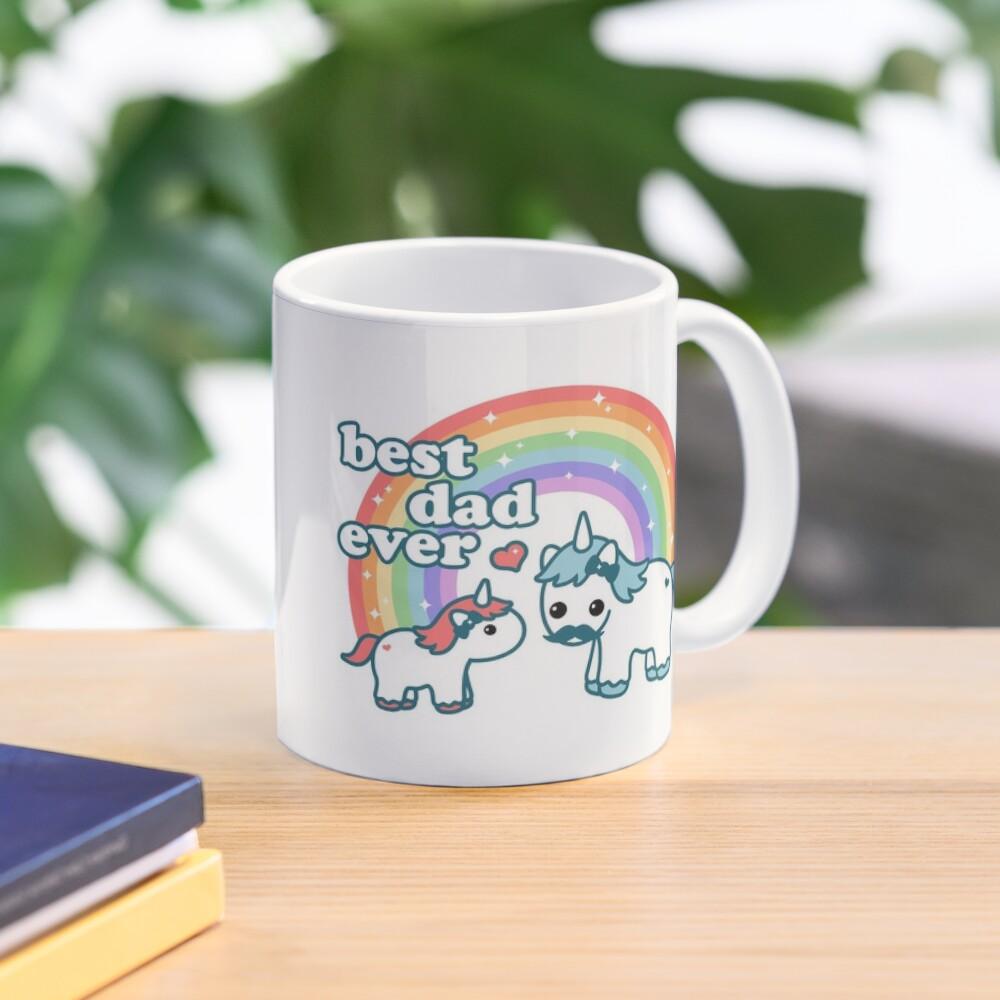 Best Unicorn Dad Mug