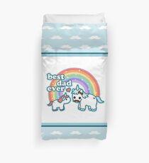 Best Unicorn Dad Duvet Cover