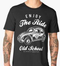 VW Beetle Car Retro Vintage Men's Premium T-Shirt