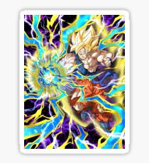 Dragon Ball Goku Super Sayan 2 Sticker