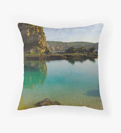 The Diving Pool Throw Pillow