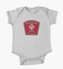 Boston Fire Department One Piece - Short Sleeve