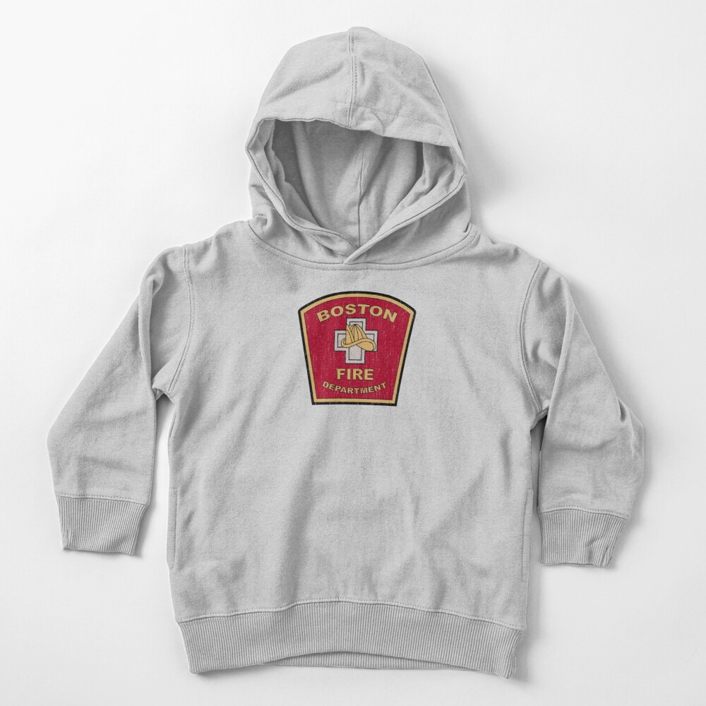 Boston Fire Department Toddler Pullover Hoodie