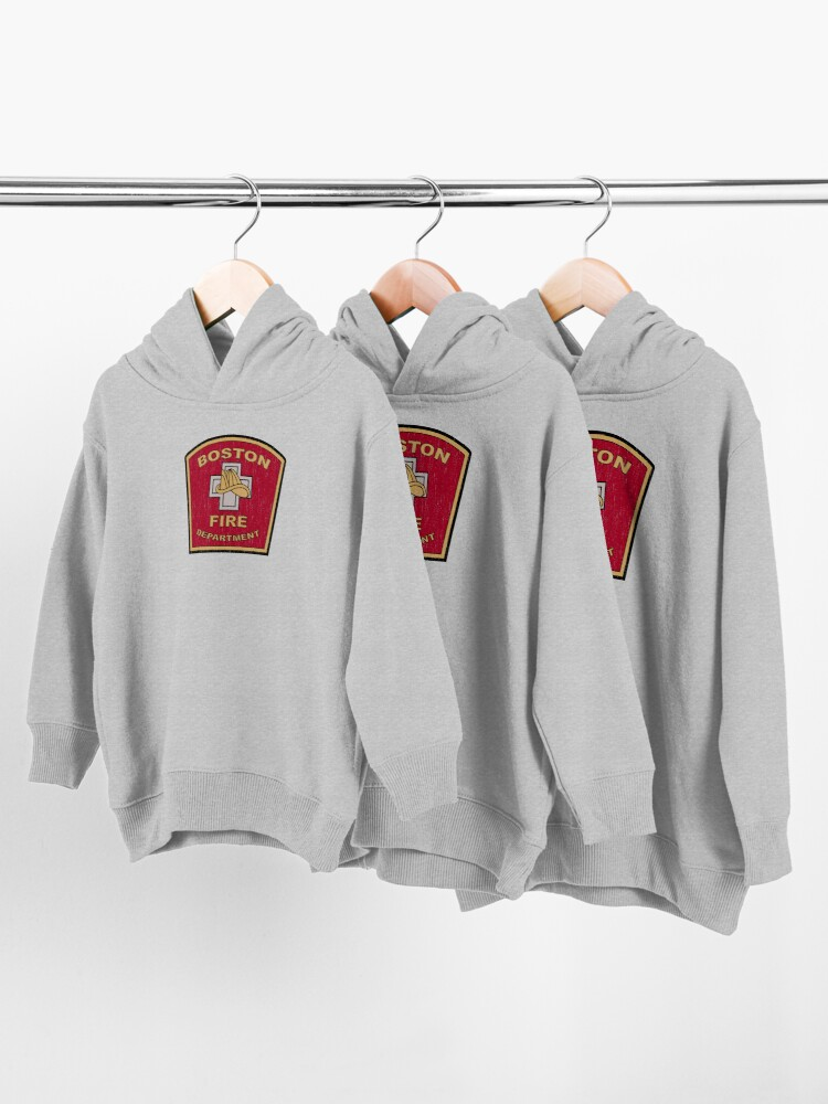 Alternate view of Boston Fire Department Toddler Pullover Hoodie