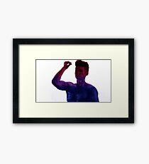 Magnus Bane Harrry Shum Jr Shadowhunters Bi  Framed Print