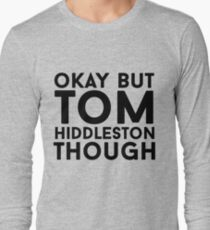 Tom Hiddleston Long Sleeve T-Shirt
