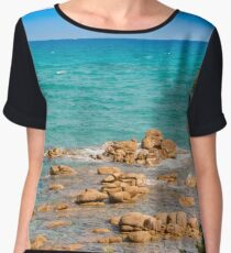 The place you want to be Women's Chiffon Top