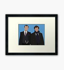 You can imagine the Christmas dinners. Framed Print