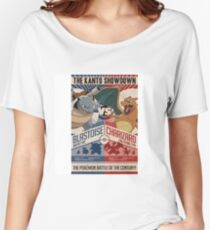 THE POKÉMON BATTLE OF CENTURY! Women's Relaxed Fit T-Shirt