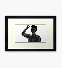 Magnus Bane Harrry Shum Jr Shadowhunters  Framed Print