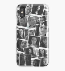 Women of Supernatural Scattered Photos iPhone Case/Skin
