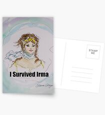 I Survived Irma Postcards