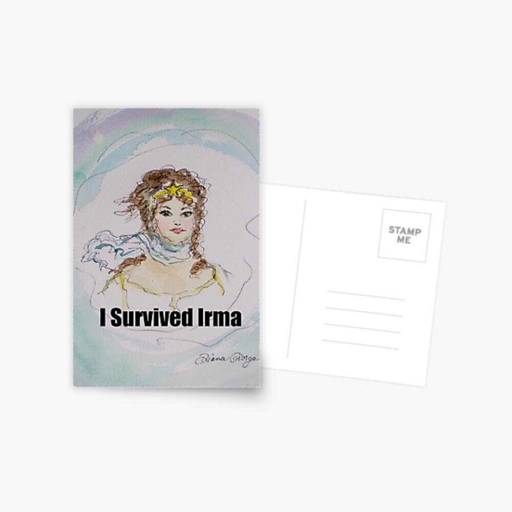 I Survived Irma Postcard