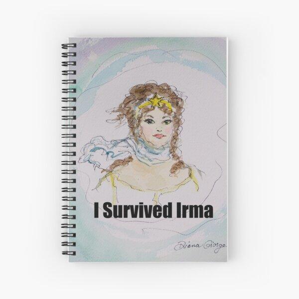 I Survived Irma Spiral Notebook