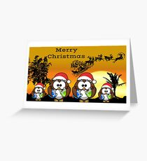 merry christmas in paradise Greeting Card