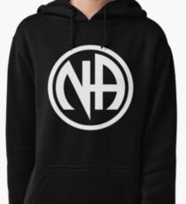Narcotics Anonymous White Pullover Hoodie