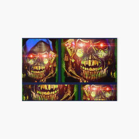 Skull Joker Art Board Print