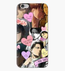 Attack on Titan Levi - Tumblr Style iPhone Case