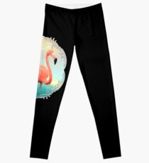 Sonnenuntergang Flamingo Leggings