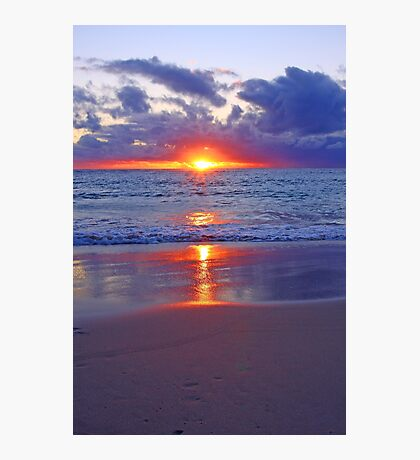 Sunset At Point Peron  Photographic Print