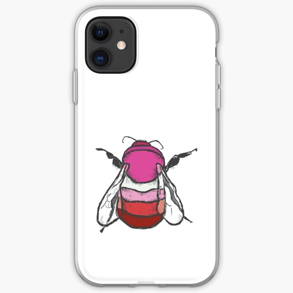Lesbian Bee iPhone Soft Case