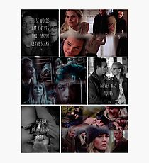 Swanfire Tribute Photographic Print