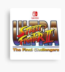Ultra Street Fighter 2 - The Final Challengers Canvas Print