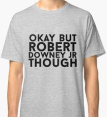 Robert Downey Jr. Classic T-Shirt