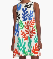 La Gerbe (Matisse) A-Line Dress