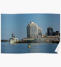 By The Sea - Halifax, Nova Scotia  Poster