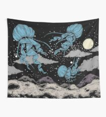 Space Jellyfish Wall Tapestry