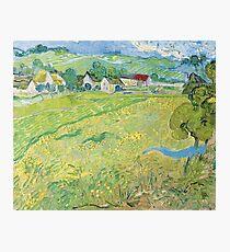 Van Gogh, View of Vessenots Near Auvers, 1890 Photographic Print