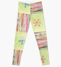 CANDY FLORAL THREE Leggings