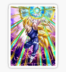 Dragon Ball Vegeta Super Sayan 3 Sticker