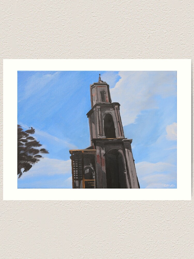 Alternate view of Church In Pochinki Art Print
