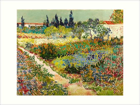 Bon Vincent Van Gogh   Garden At Arles, 1888 By Fineearth