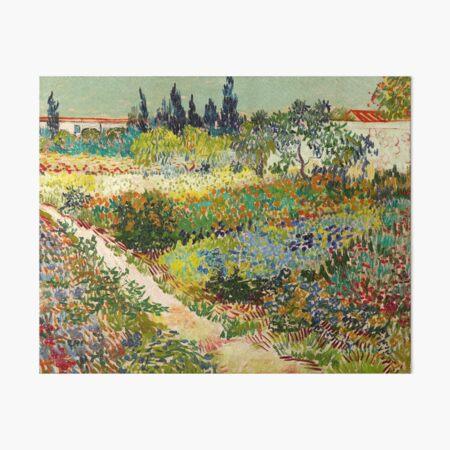 Vincent van Gogh - Garden at Arles, 1888  Art Board Print