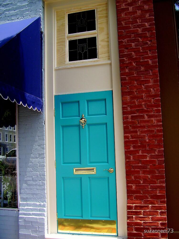 Downtown Door by suzannem73